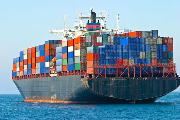 Cargo-Container-Ship
